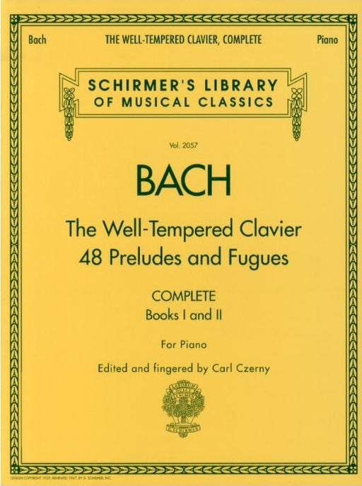 J. S. Bach: The Well- Tempered Clavier - 48 Preludes and Fugues