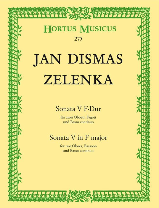 Zelenka: Sonata No. 5 in F Major