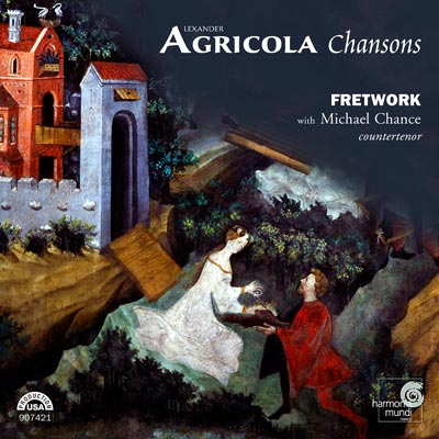 Fretwork with Michael Chance: Agricola - Chansons CD