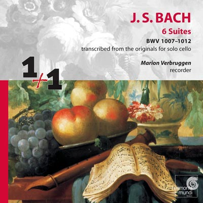 Marion Verbruggen: Bach Suites BWV 1007-1012 CD
