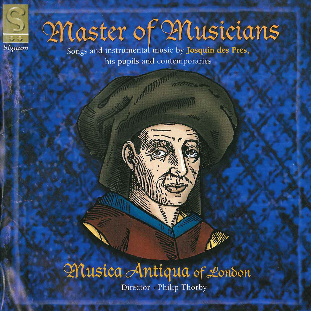 Josquin: Master of Musicians CD
