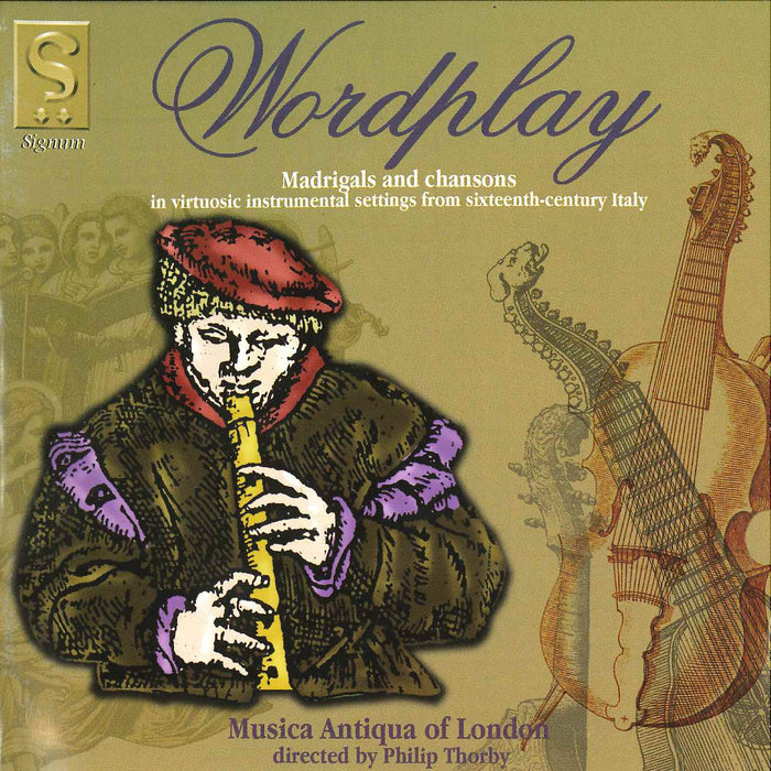 Musica Antiqua of London: Wordplay CD