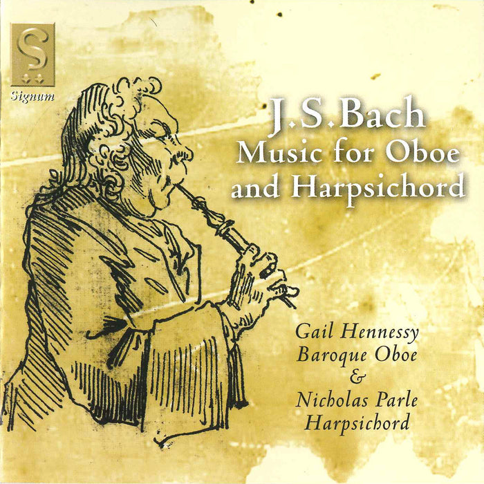 J.S. Bach: Music for Oboe and Harpsichord CD