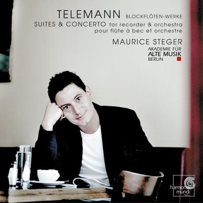 Maurice Steger: Telemann Recorder Works CD