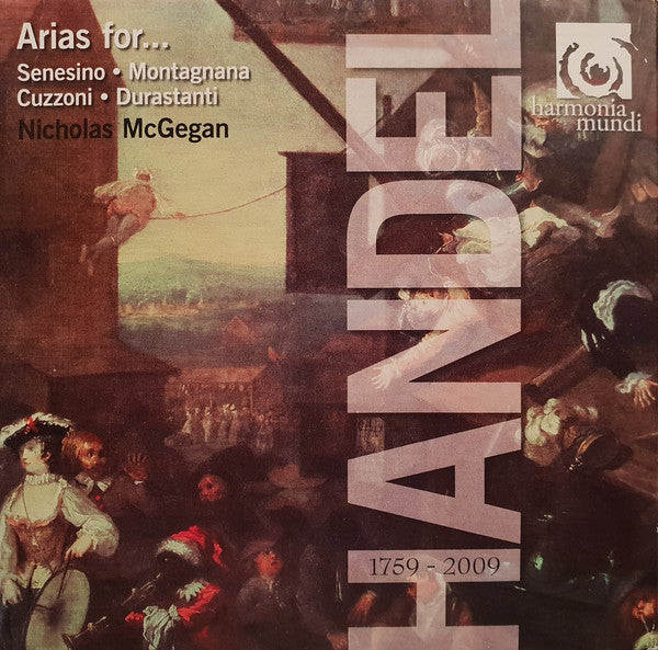 Handel: Arias For... CD