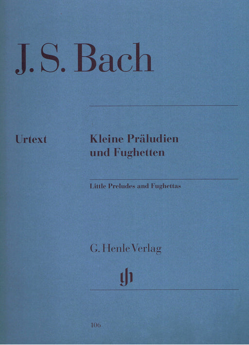 Bach: Little Preludes and Fughettes