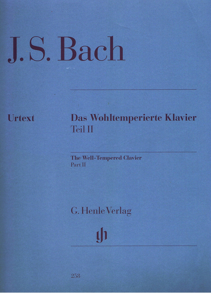 Bach: The Well-Tempered Clavier, Part II