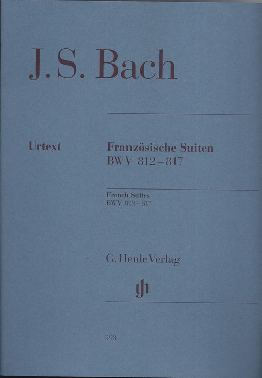 Bach: French Suites BWV 812-817