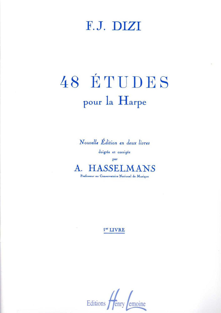 Dizi: 48 Etudes for Harp