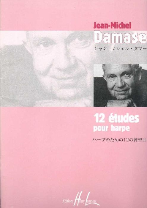 Damase: 12 Etudes for Harp