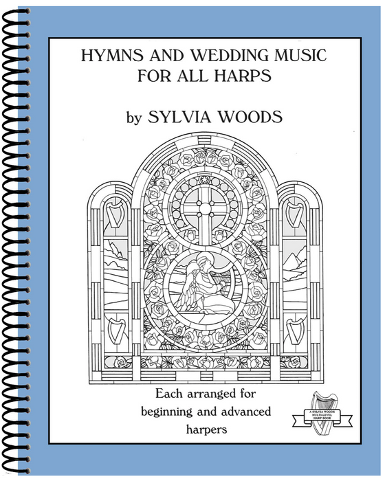 Woods (arr.): Hymns  & Weddings Music for All Harps