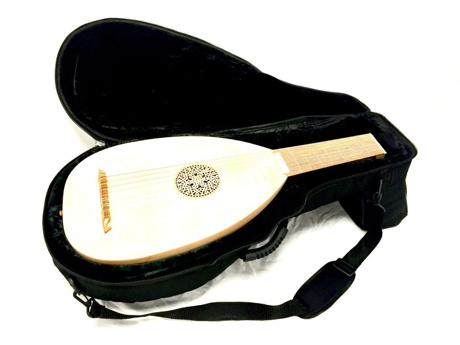 EMS Lute 6, 7 or 8 Course Semi-Rigid Case