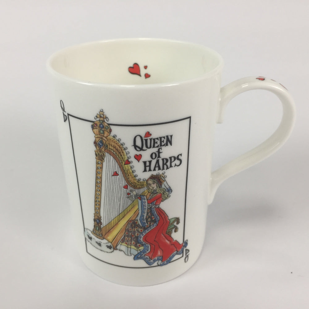 """Queen Of Harps"" - China Mug"