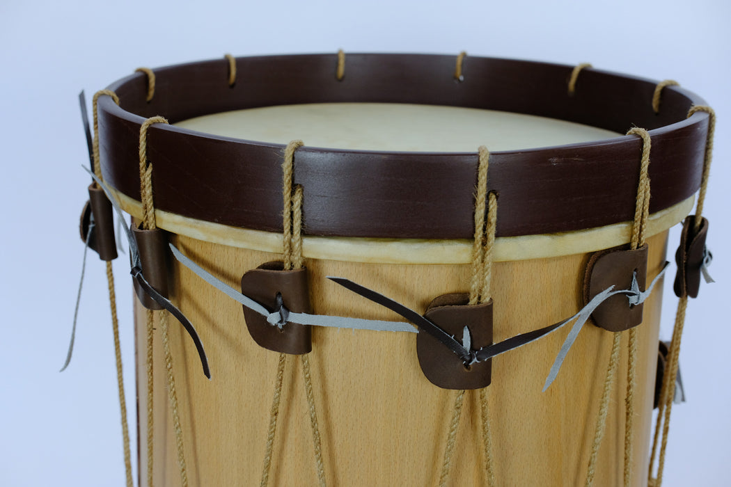 "EMS 13.5"" Ø x 19"" Long Shell Renaissance Drum  with drum sticks"