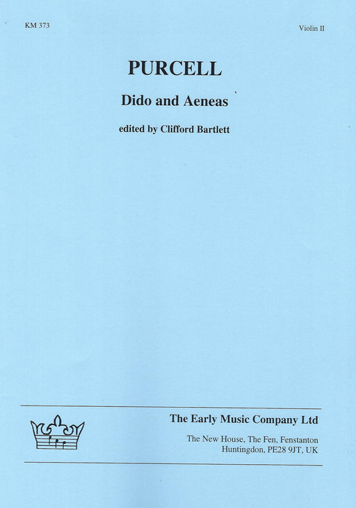 Purcell: Dido & Aeneas - Violin 2