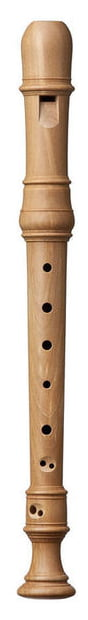 Kung Superio Soprano Recorder in Pearwood