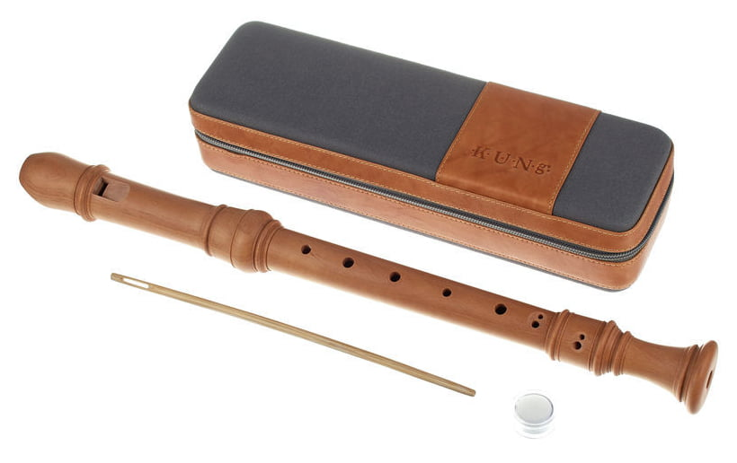 Kung Superio Alto Recorder in Pearwood