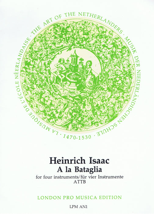 Isaac: A la Bataglia for 4 Instruments