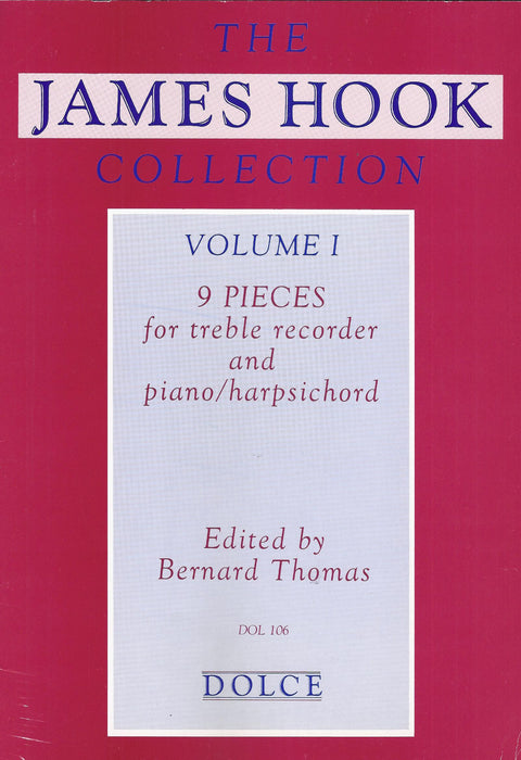 Hook: 9 Pieces for Treble Recorder and Keyboard