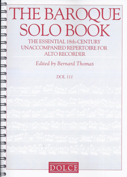 Various: The Baroque Solo Book