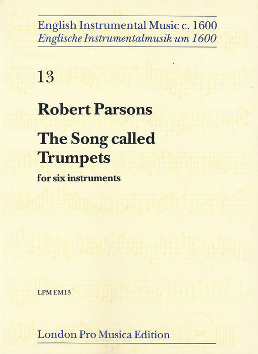 Parsons: The Song Called Trumpets for 6 Instruments