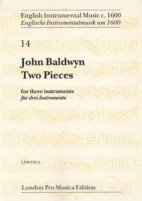Baldwyn: Two Pieces for three Instruments