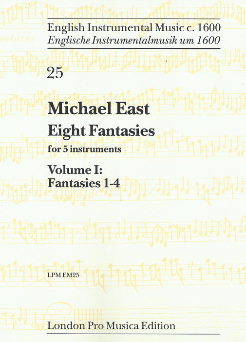 East: 8 Fantasies for 5 Instruments, Vol. 1