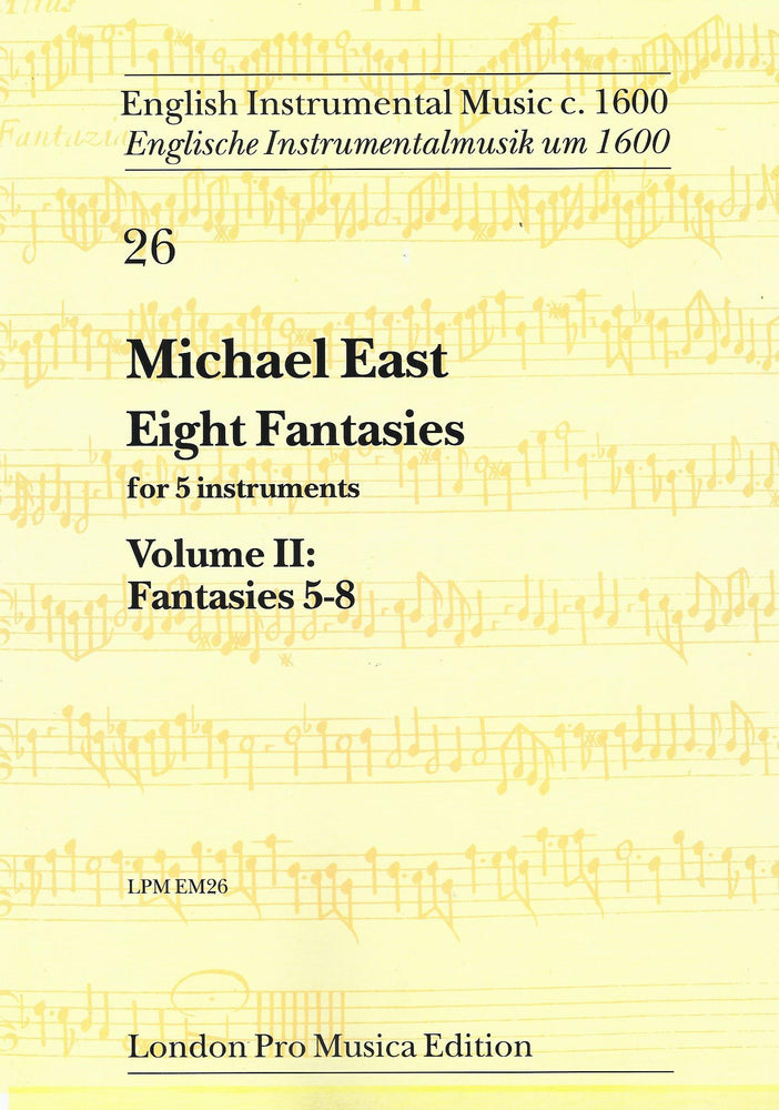 East: 8 Fantasies for 5 Instruments, Vol. 2