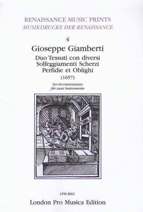 Giamberti: Duo Tessuti for two Instruments