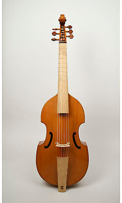 Lu-Mi Standard 6-String Bass Viol after Meares