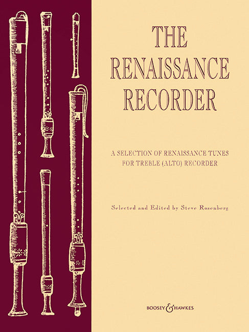 Various: The Renaissance Recorder - Treble Recorder