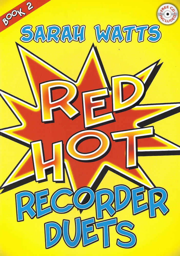 Watts: Red Hot Recorder Duets, Book 2