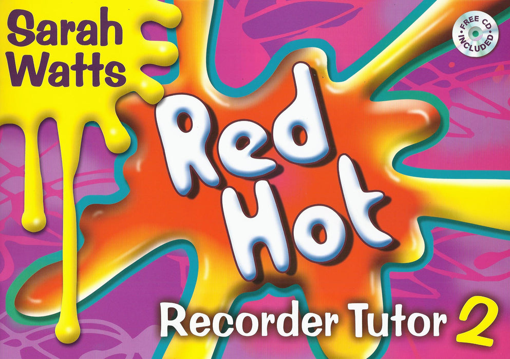 Watts: Red Hot Recorder Tutor Book 2