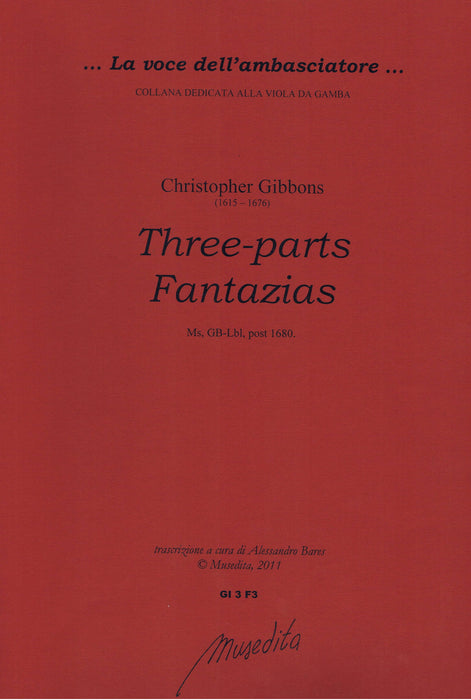 Gibbons: Three-Part Fantasias
