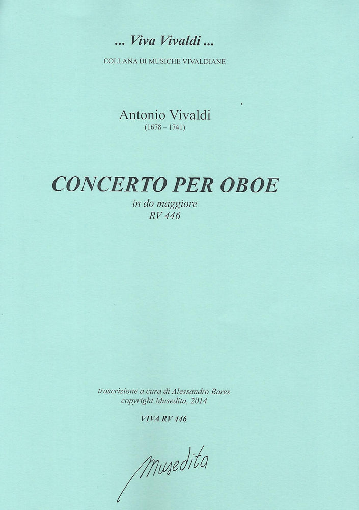 Vivaldi: Concerto in C Major RV 446 for Oboe, Strings and Basso Continuo