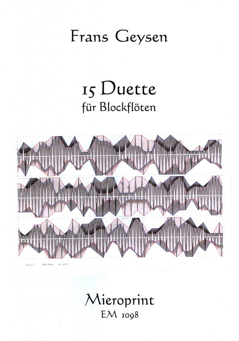 Geysen: 15 Duets for Recorders (2003)