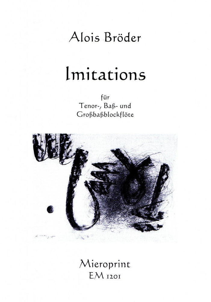 Broeder: Imitations for Recorder Trio (2004)