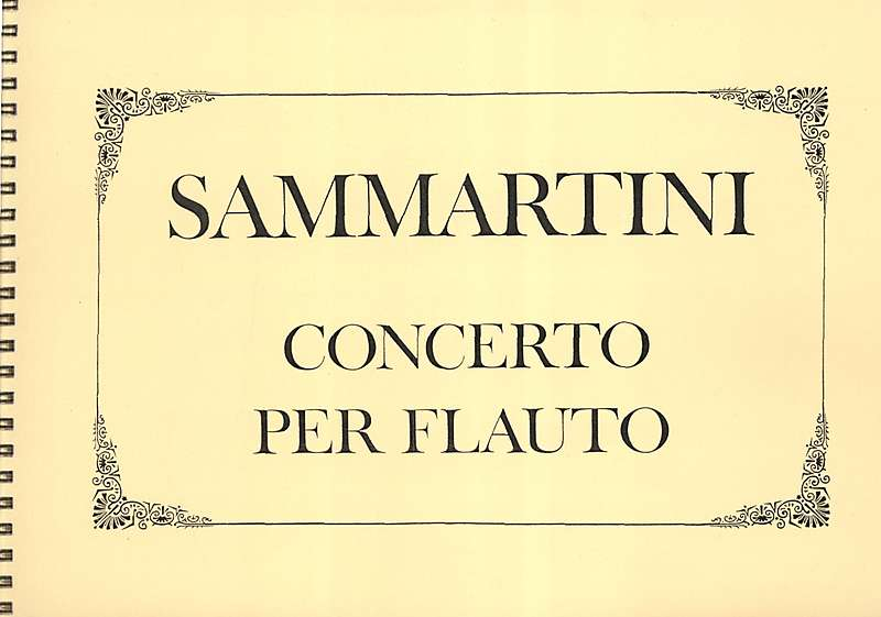 Sammartini: Concerto for Recorder, Strings and Basso Continuo