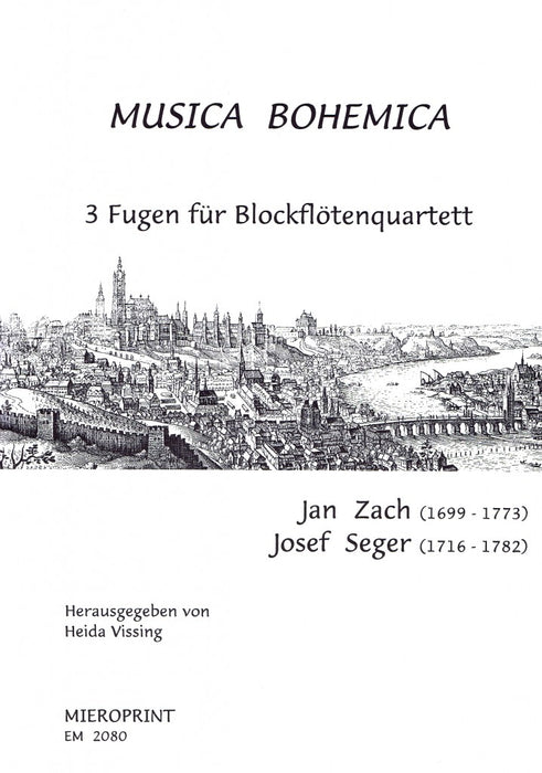Zach/ Seger: Musica Bohemica - 3 Fugues for Recorder Quartet