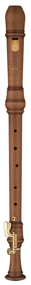 Moeck Rottenburgh Tenor Recorder with Double Key in Stained Maple