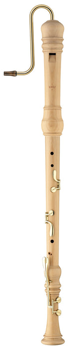 Moeck Rottenburgh Bass Recorder in Maple