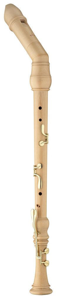 Moeck Rottenburgh Knick Bass Recorder in Maple