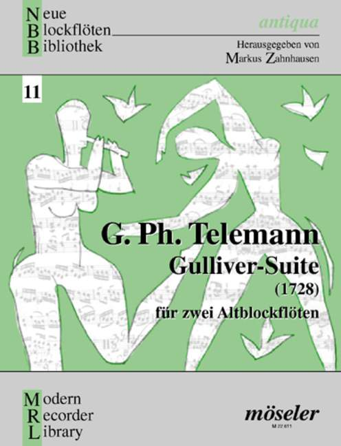 Telemann: Gulliver- Suite for two Treble Recorders