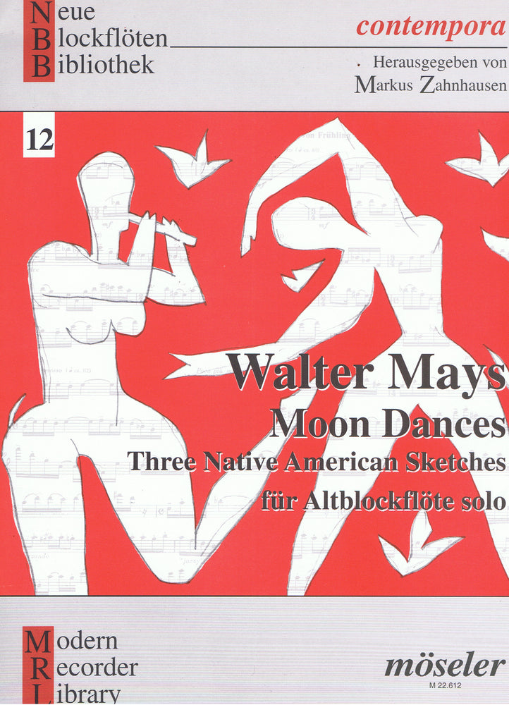 Mays: Moon Dances for Alto Recorder Solo