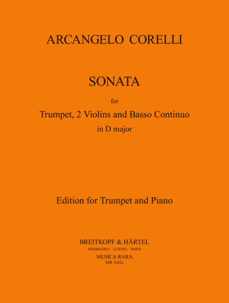 Corelli: Sonata in D Major for Trumpet and Piano