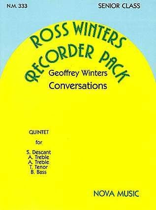 Winters: Conversations for Recorder Quintet