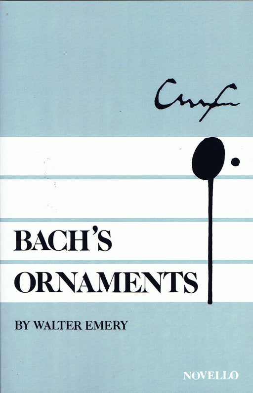 Emery: Bach's Ornaments