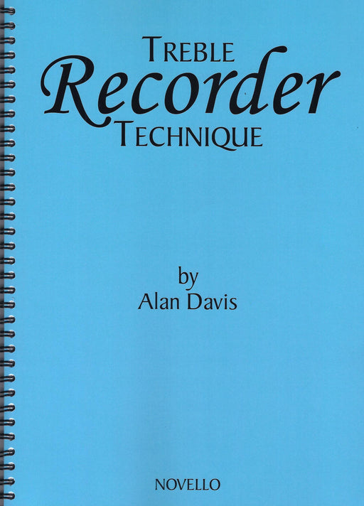 Davis: Treble Recorder Technique