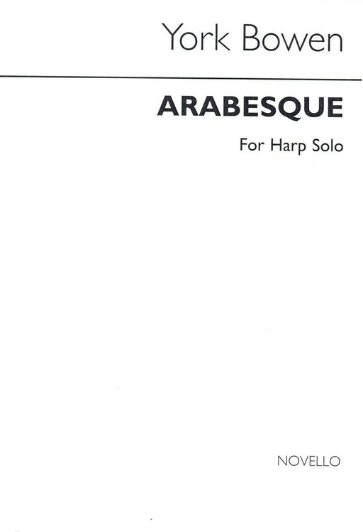 Bowen: Arabesque for Harp Solo