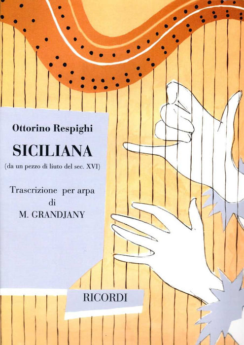 Respighi: Siciliana for Harp